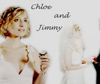 Chloe And Jimmy Wedding Wallpaper
