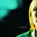 Chloe Sullivan Half Face Portrait Wallpaper