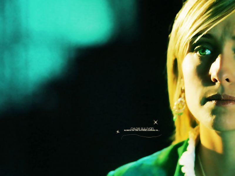Chloe Sullivan Half Face Portrait Wallpaper 800x600