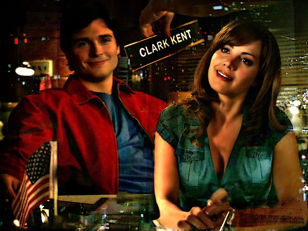 Clark And Lois Lane Collage Wallpaper 1024x768