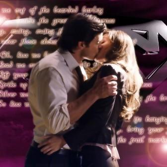 Clark Kent And Lois Lane Kiss