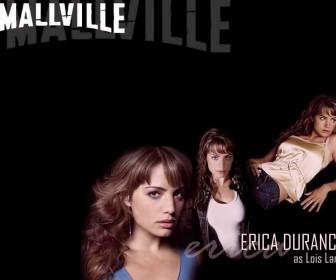 Erica Durance As Lois Lane Smallville Wallpaper