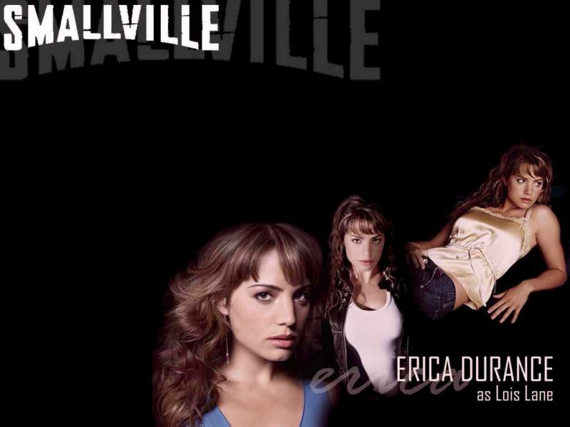 Erica Durance As Lois Lane Smallville Wallpaper 800x600