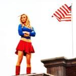 Kara Kent On The Roof Wallpaper