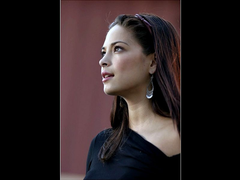 Kristin Kreuk Lana Lang Side Portrait Wallpaper 800x600