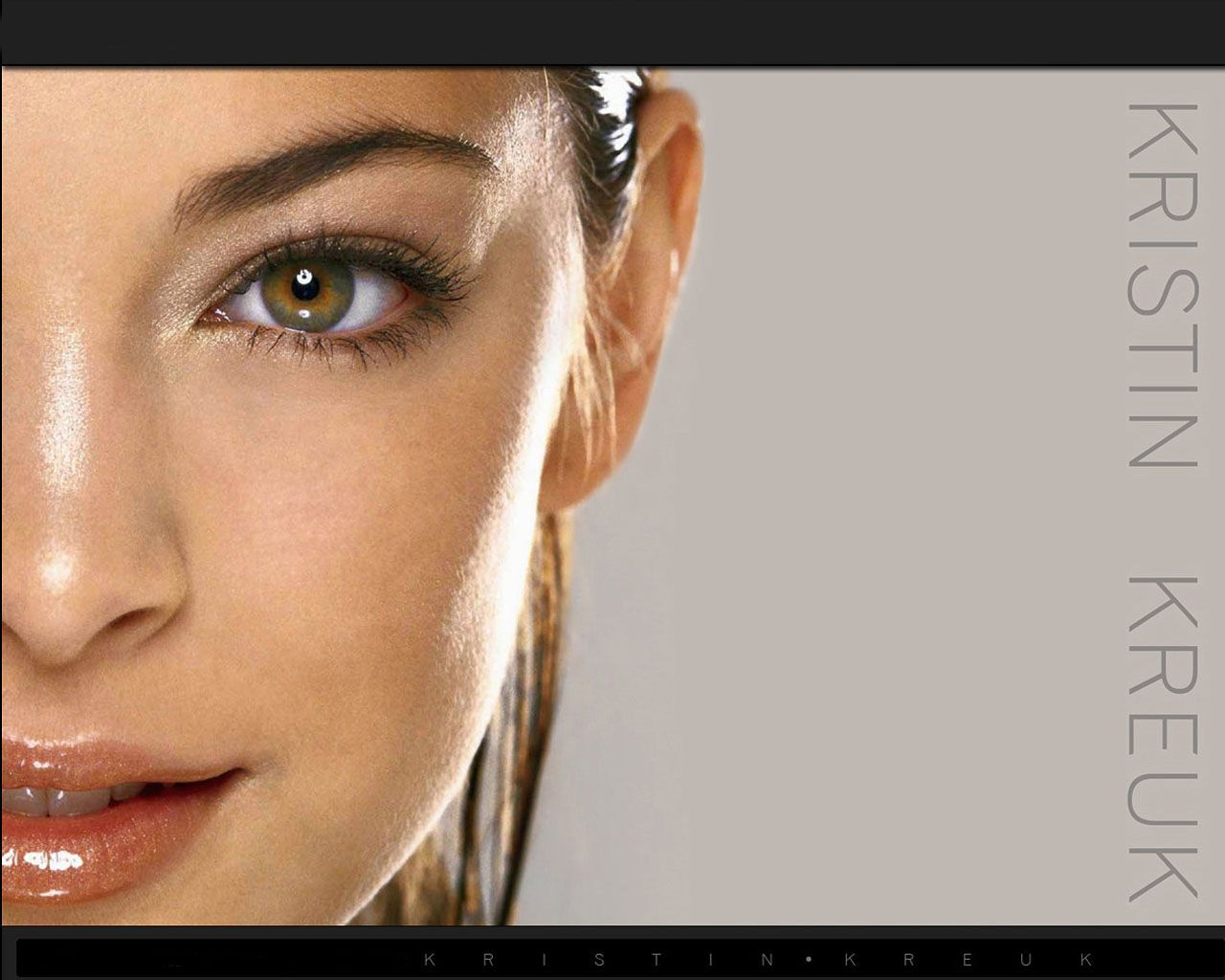 Kritin Kreuk Close Up Portrait Wallpaper 1280x1024