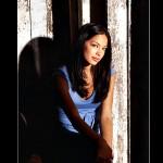 Lana Lang Portrait Light And Shadow Wallpaper