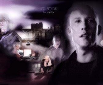 Lex Luthor Collage Wallpaper