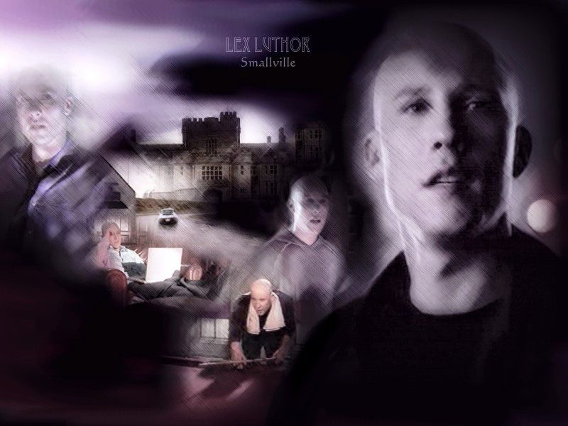 Lex Luthor Collage Wallpaper 800x600