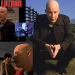 Lex Luthor Different Scenes Wallpaper