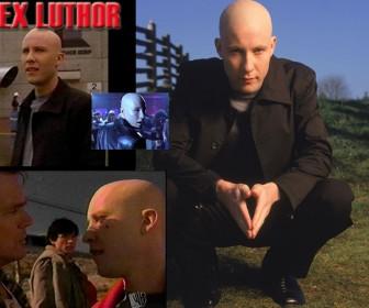 Lex Luthor Different Scenes Wallpaper