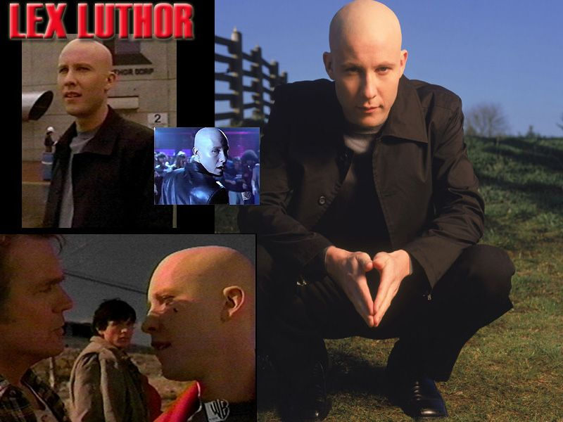 Lex Luthor Different Scenes Wallpaper 800x600