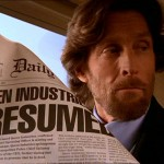 Lionel Luthor Reading Newspaper Wallpaper