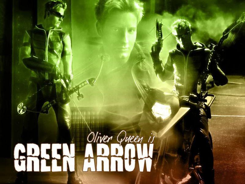 Oliver Queen As Green Arrow Wallpaper 800x600