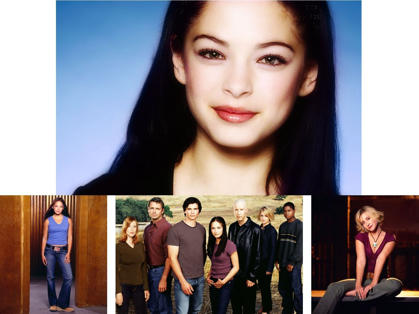 Smallville Cast Collage Wallpaper 1400x1050
