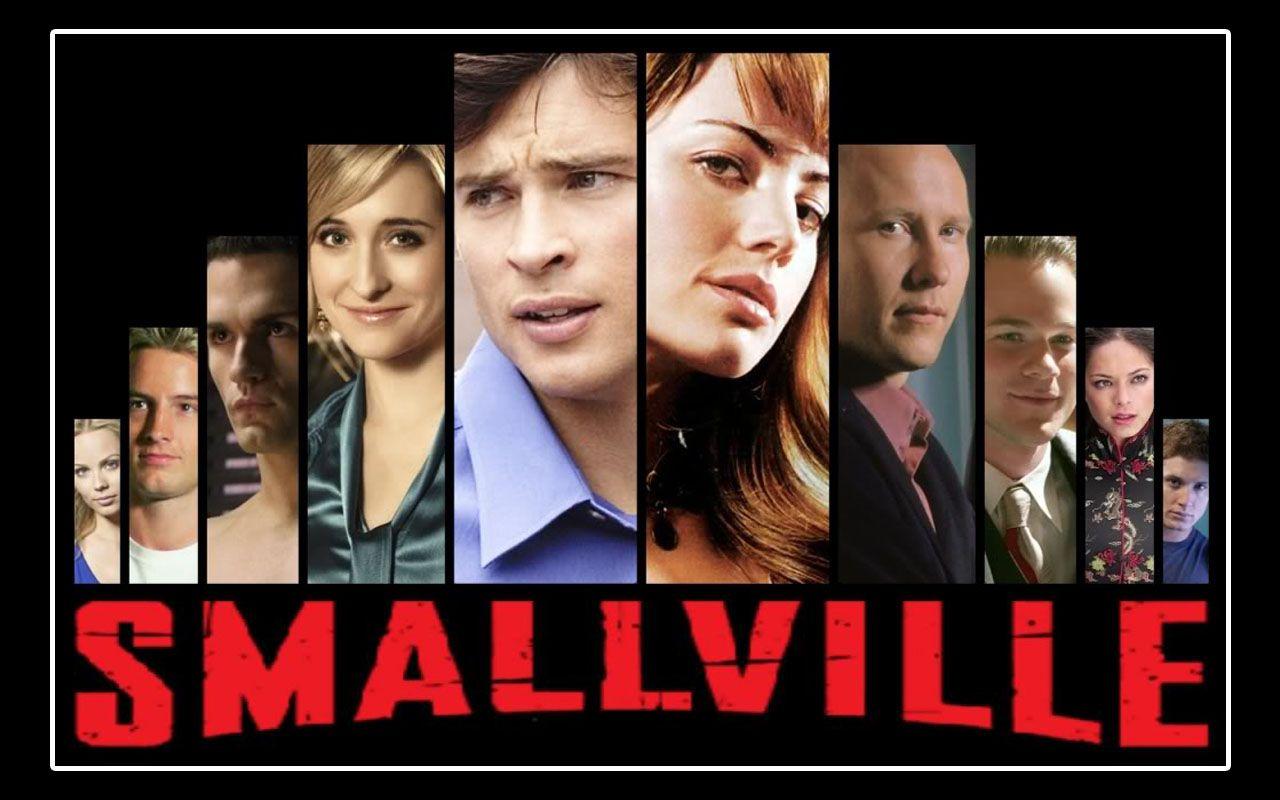 Smallville Cast Faces Wallpaper 1280x800