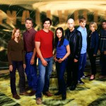 Smallville Cast Logo Background Wallpaper