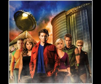 Smallville Cast Luthor Corp Wallpaper