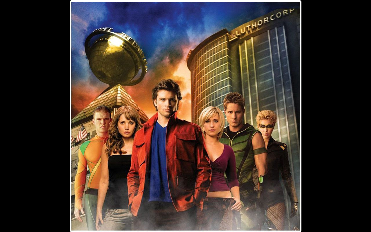Smallville Cast Luthor Corp Wallpaper 1280x800