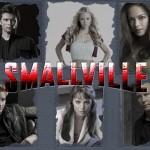 Smallville Cast Portraits Gray Background Wallpaper