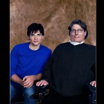 Tom Welling And Christopher Reeve Wallpaper