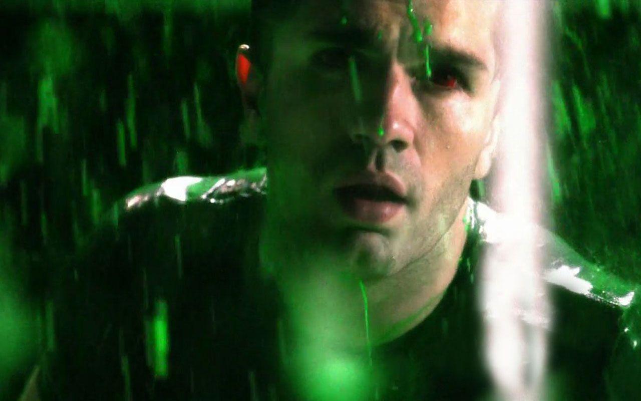 Zod Green Rain Wallpaper 1280x800